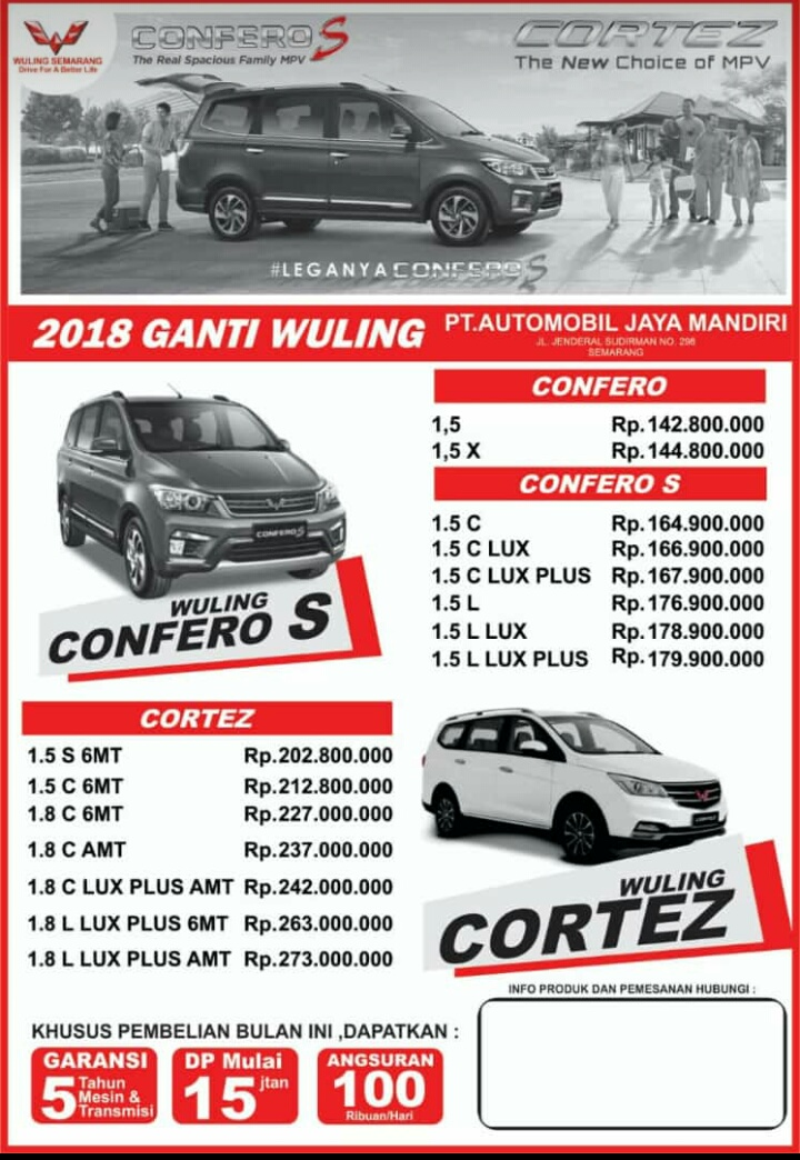 Harga Mobil Wuling By Ipung