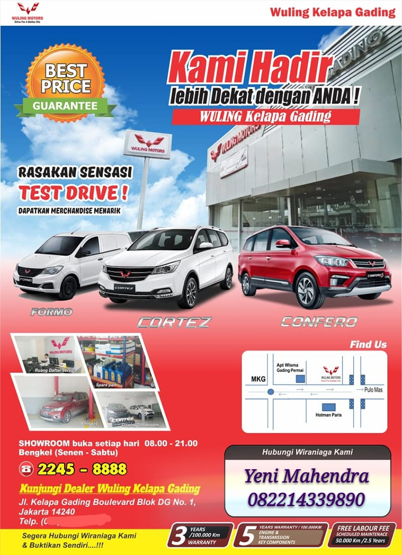 Promo Wuling By Yeni