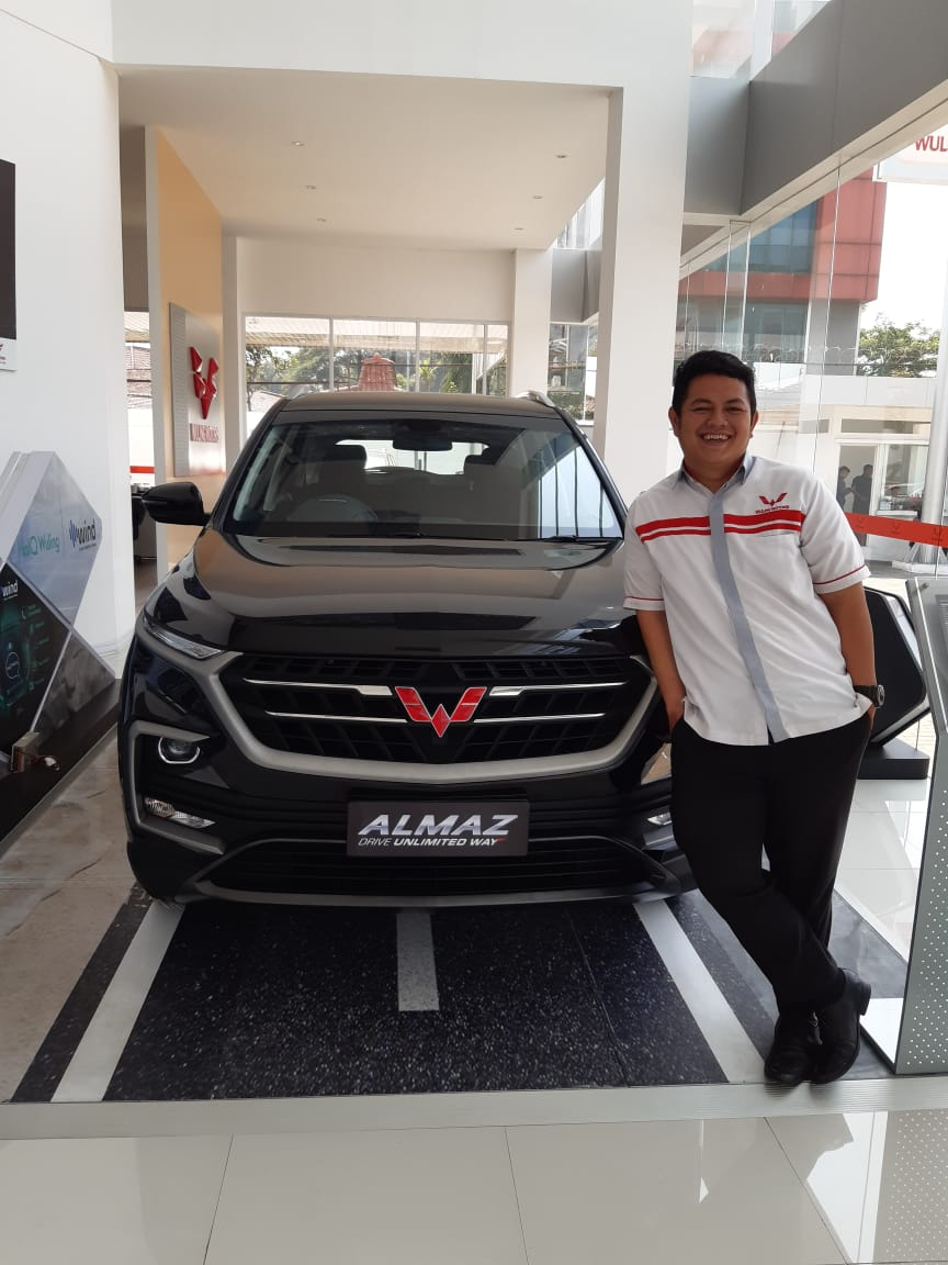 Sales Marketing Mobil Dealer Wuling Reho
