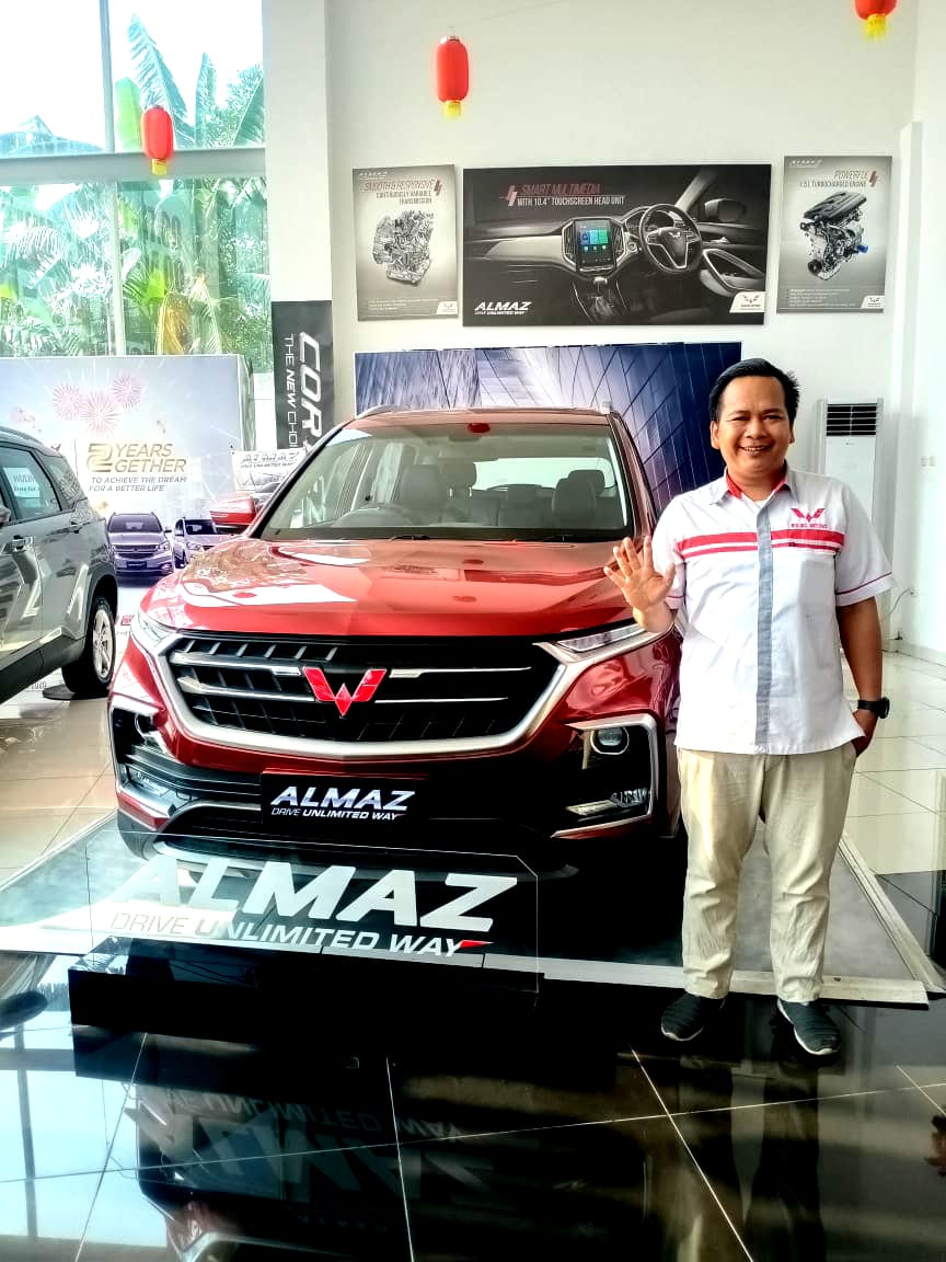 Sales Marketing Mobil Dealer Wuling Wawan
