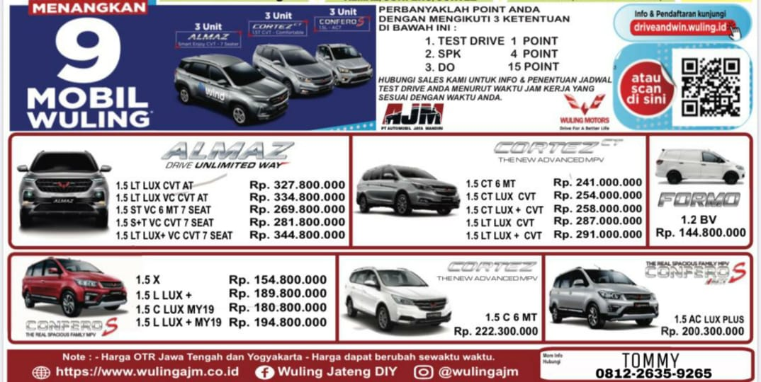 Promo Wuling By Tommy